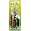 Florist set, scissors & knife, in a sliding bl